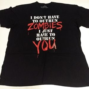 Black Matter Zombies Tee from Hot Topic